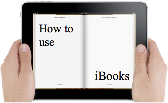 How to use iBooks